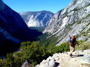 backpacking in yosemite
