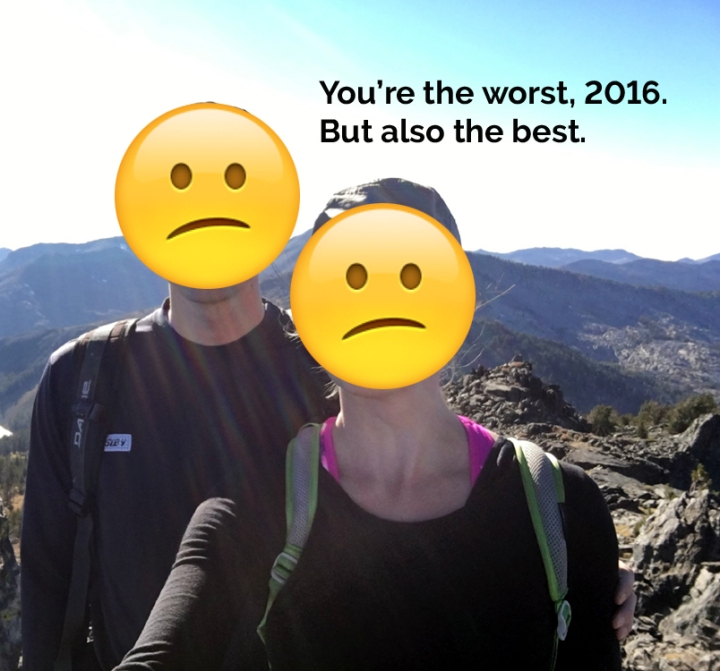 You're the worst, 2016. But also the best.