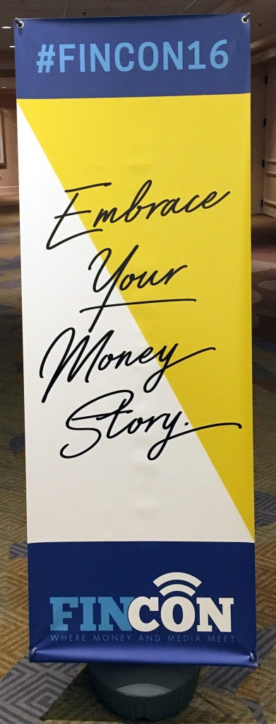 #FinCon16, Embrace Your Money Story